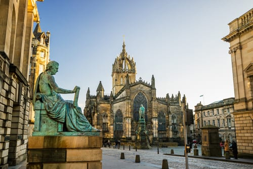 Aprender inglés en la Universidad de Edimburgo