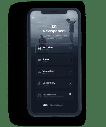 App para aprender inglés en iOS