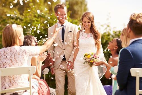 Frases em inglês para ir a um casamento